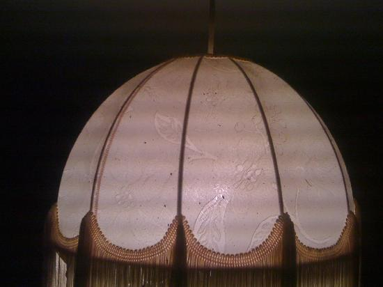 The Waverley Hotel: Old tatty lamp shade