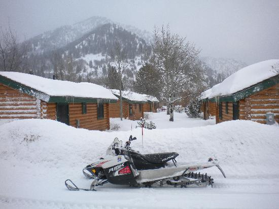 Alpine, WY: My sled
