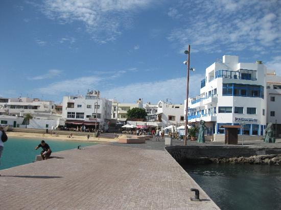 Corralejo, Spanje: muelle gennaio 2011
