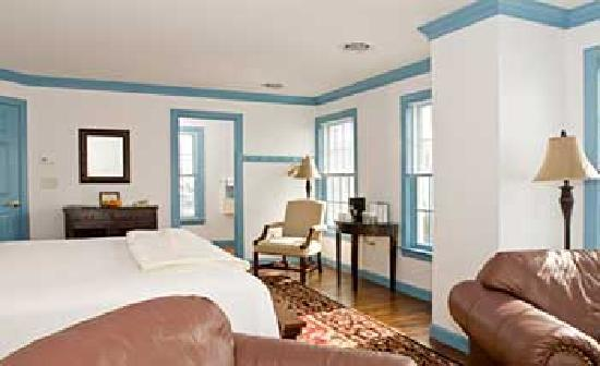 "Inn at Osprey Point: ""Port"" is located at the Osprey Annex and has a shared porch and  full view of the Cheapeake Bay"