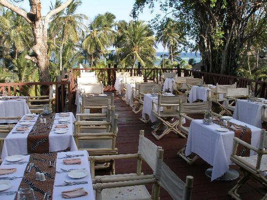 Diani Reef Beach Resort &amp; Spa: Part of the Dining Area