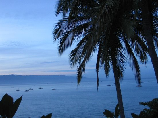 Pelabuhan Ratu, Indonesia: view from the restaurant