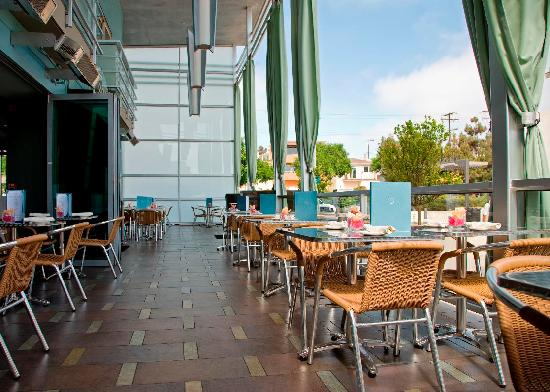 Zinc terrace picture of shade hotel manhattan beach for What is a hotel terrace