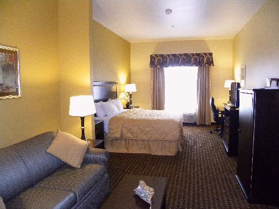Comfort Inn and Suites Abilene: King Suite