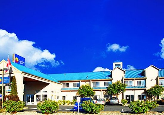 Comfort Inn Marysville: Hotel near area college