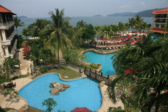 Sutera Harbour Resort (The Pacific Sutera & The Magellan Sutera): View from our room