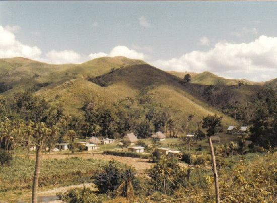 Fiyi: Northern part of Viti Levu near Ba  Fiji