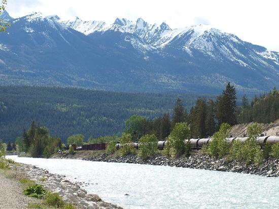 Golden Municipal Campground: Kicking Horse River
