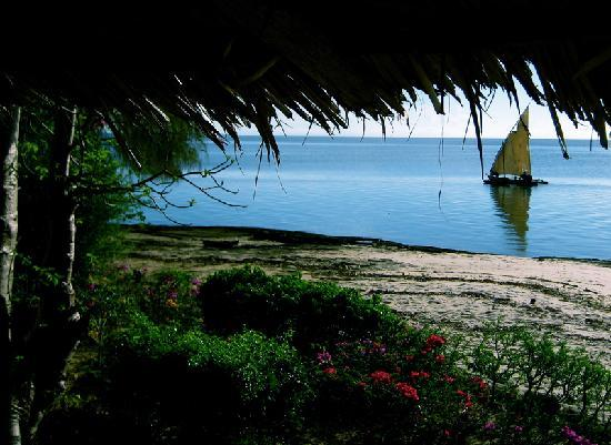 Chole Mjini Lodge: View from the Red Herring