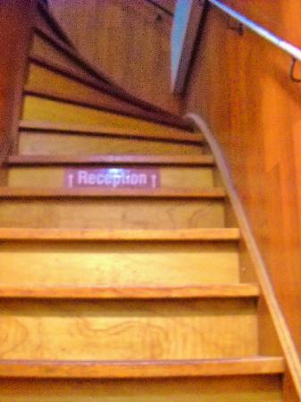 Amsterdam Hostel Uptown: The stairs...not THAT scary.....