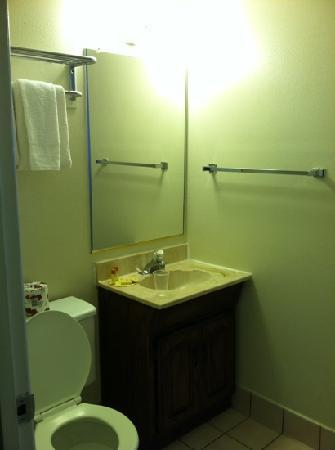 Days Inn Lake Tahoe Ski Resort / Golf Area: bathroom in our room