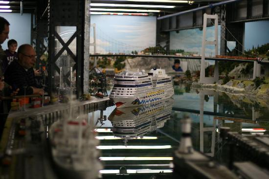 Cruise Ship Miniature Miniatur Wunderland a Cruise