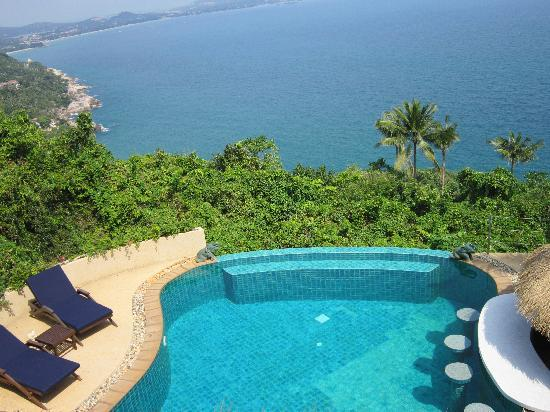 Ed Rock Villas: infinity pool
