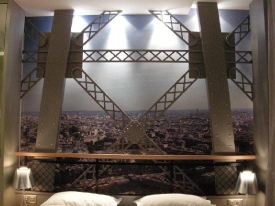 The eiffel tower room again picture of secret de paris Eiffel tower secret room