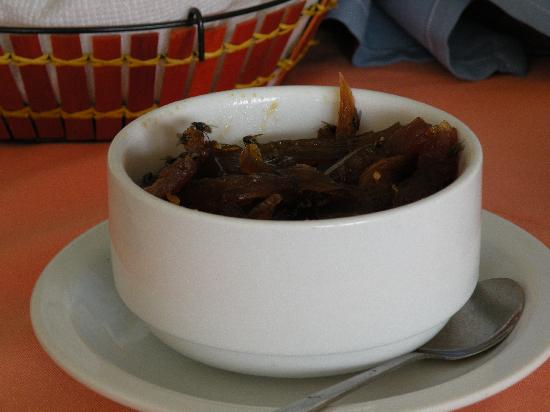 Sab Sab Sal Hotel: insects on food
