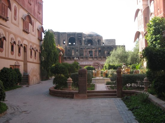 Khimsar, India: the fort