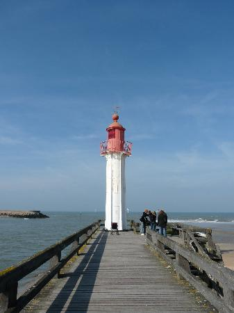 Trouville-sur-Mer, Frankrike: La jete
