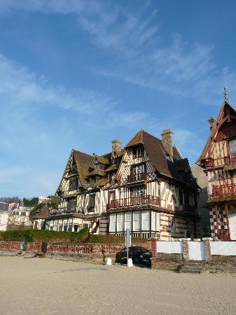 Trouville-sur-Mer, Frankrike: Maisons 1900