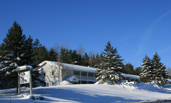 Lodge at Bretton Woods : The Lodge in Winter 