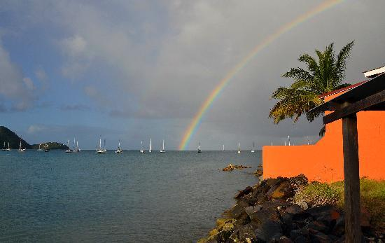 Bay Guesthouse: rainbow