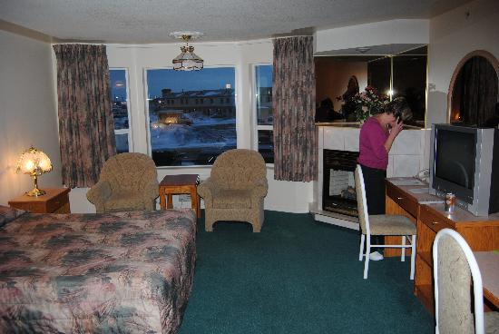 Western Budget Motel Leduc: Roomy and Clean..