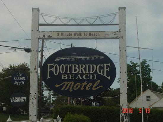 Footbridge Beach Motel: Our maine trip