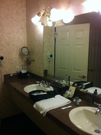 Grass Valley Courtyard Suites: Sink Area