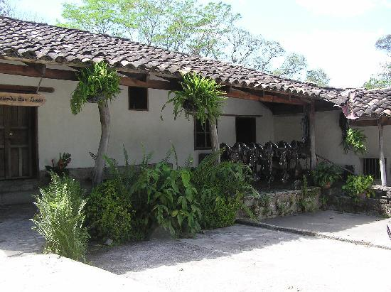 Hacienda San Lucas: back of hacienda