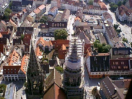 Strasburg, Francja: View of Strasbourg from the Cathedrale 4