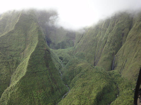 Lihue, Hawaï: Heart of Mt. Aai'ale'ale; 430 inches rain per year