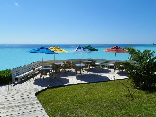 Cape Santa Maria Beach Resort &amp; Villas : View from bar 