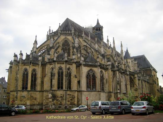 Nevers, France: Kathedrale