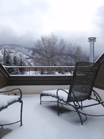 Aspen Mountain Lodge: Terrasse