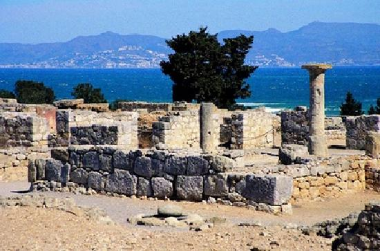 L&#39;Escala, Spanje: las ruinas d&#39;Empuries