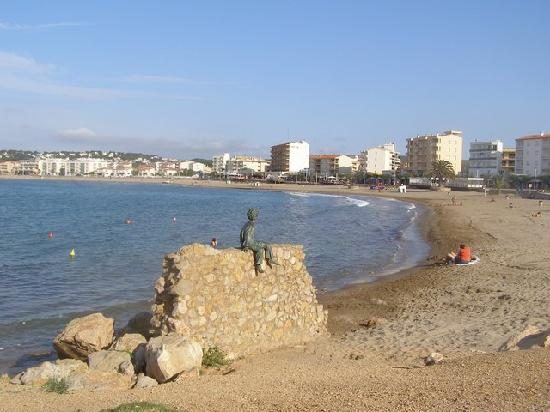 L&#39;Escala, Spanje: plage de riells