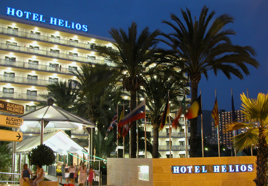 Fachada Hotel Helios Benidorm