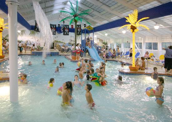 Francis Scott Key Family Resort: Caribbean Key Indoor Pool Inside FSK RESORT