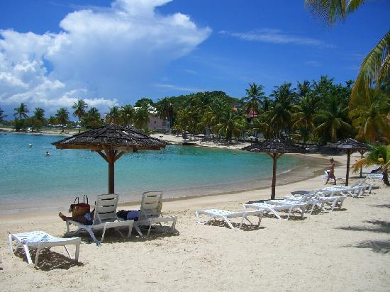Gosier, Guadeloupe: La plage