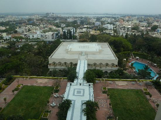 Taj Krishna Hyderabad: View from the club level