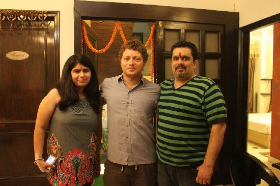 Megha Homestay: our lovely hosts - megha and aman