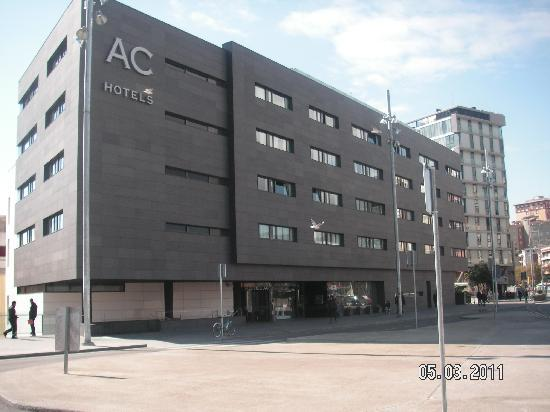 View from sants station picture of ac hotel sants by - Ac hotels barcelona ...