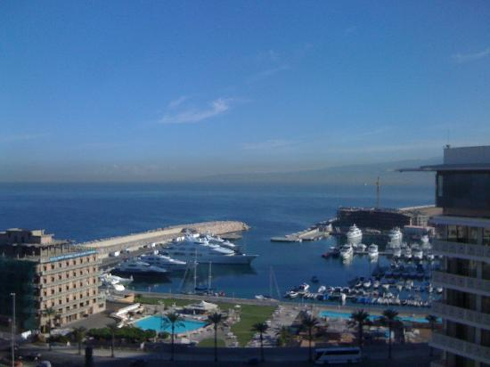 Phoenicia Hotel: View from room