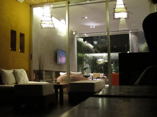 Mine Hotel Boutique: Lobby/sitting area