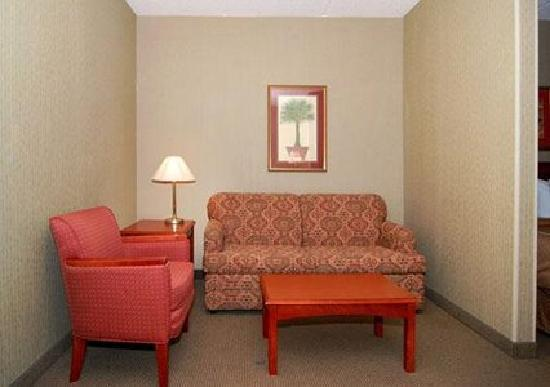 Comfort Suites Charlotte Northlake: Room + Lots of Space = :)
