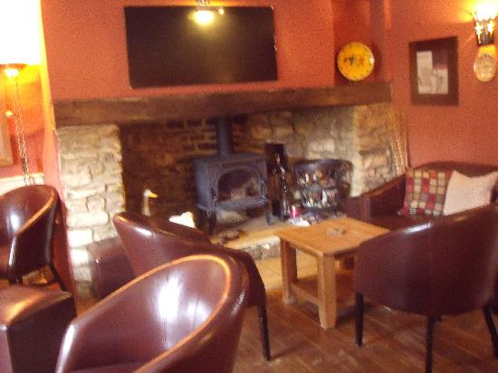 The Tollgate Inn: snug area