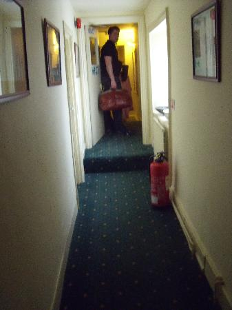 The Tollgate Inn: hallway