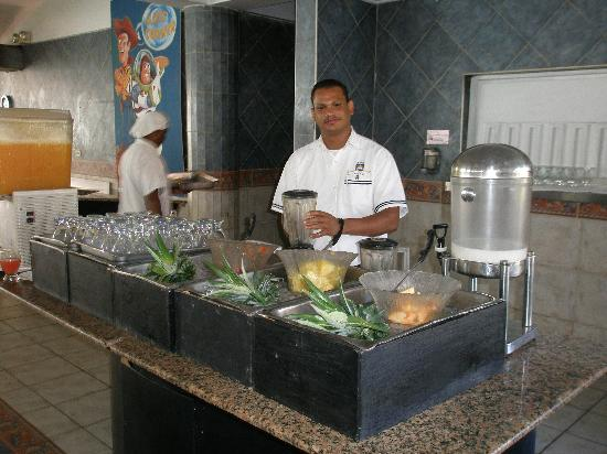 Celuisma Tropical Playa Dorada: Nice smoothies made freshly every morning!!