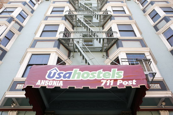 USA Hostels San Francisco: Conveniently located near Union Square