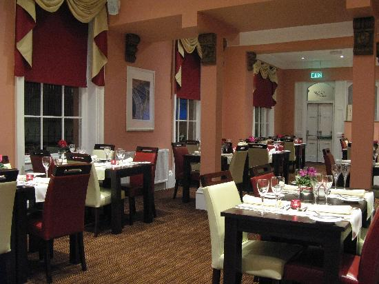 Goole, UK: The Burlington Restaurant at The Lowther Hotel