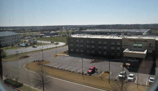 Drury Inn & Suites Memphis South: view out window